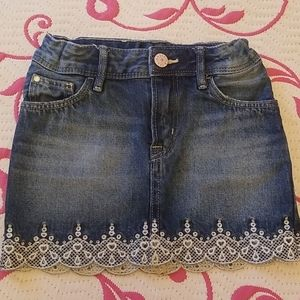 H&M Denim Skirt - Size 3-4
